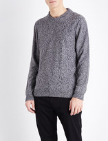 HUGO BOSS Slim-fit cotton knitted jumper