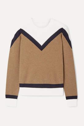 Veronica Beard Bradford Cashmere Sweater - Brown