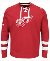 Majestic Men's Detroit Red Wings Centre Long-Sleeve Jersey Shirt