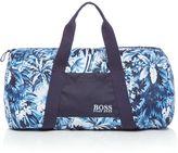 HUGO BOSS Swim Print Duffle Bag