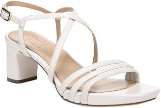 Naturalizer Heeled Leather Sandals - Iris