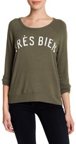 Sundry Tres Bien Pullover Sweater