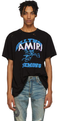 Amiri Black Team Logo T-Shirt