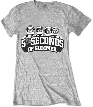 5 Seconds Of Summer Women's Spaced Out Crew T-Shirt