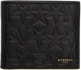 Givenchy Black Logo-embossed Wallet