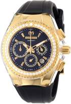 Technomarine Women's 111008 Cruise Original Star Chronograph Diamond Silicone Watch