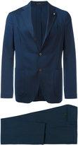 Lardini formal suit - men - Cotton/Spandex/Elastane/Viscose/Wool - 46