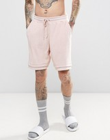 Asos Shorts In Pink Towelling