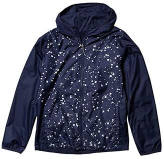 Columbia Kids Pixel Grabber Reversible (Little Kids/Big Kids) (African Violet Striped Peak) Kid's Clothing
