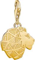 Thomas Sabo Lion 18ct gold-plated charm