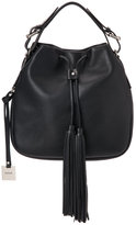 Rudsak Black Padoue Drawstring Bucket Bag