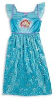 AME Sleepwear Girls Little Mermaid Nightgown