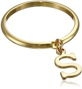 "A.V. Max Dangle Initial ""S"" Ring, Size 7"