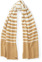 Ralph Lauren Striped Blanket Scarf