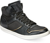 GUESS Men's Jumper Mid-Top Sneakers