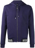 Versus zip up hoodie - men - Cotton/Polyamide/Polyester/Spandex/Elastane - S