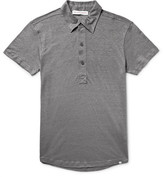 Orlebar Brown Branigan Slim-Fit Slub Linen Polo Shirt