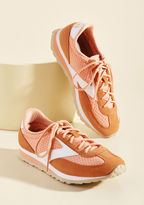 Brooks Heritage Walk and Learn Sneaker in Cantaloupe in 9