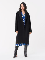 Diane von Furstenberg Perilla Double-Face Wool Coat
