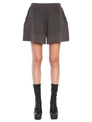 Rick Owens Elastic Knitted Shorts