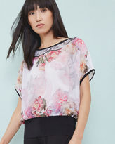 Ted Baker Painted Posie top