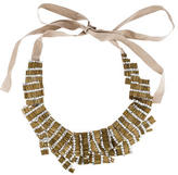Vera Wang Crystal Embellished Bead Collar Necklace