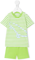 Il Gufo T-shirt and shorts set - kids - Cotton/Spandex/Elastane - 6 mth