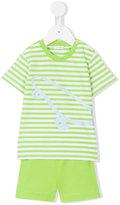 Il Gufo T-shirt and shorts set