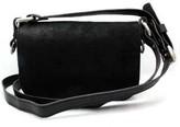 """Vin Baker Jamie"""" Black Leather Cross-body Bag"""