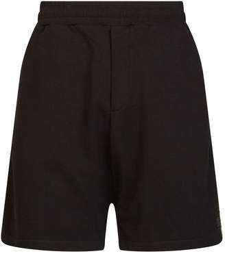 McQ Logo Stripe Sweat Shorts
