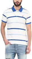 American Crew Men's Polo Collar Stripes T-Shirt -L (AC67A-L)