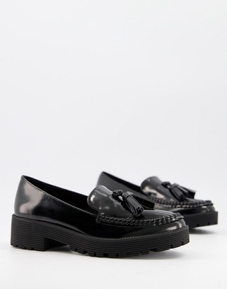 London Rebel Tassel Loafers