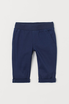 H&M Pull-on Chinos - Blue
