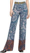 BCBGMAXAZRIA Chris Floral-Print Wide-Leg Pant