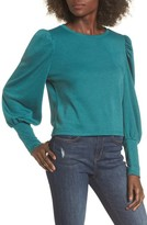 Leith Women's Bloused Sleeve Sweater