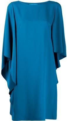 Alberta Ferretti Asymmetric Midi Dress