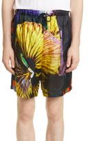 Dries Van Noten Piper Floral Print Shorts