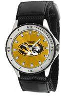 Game Time Veteran Series Missouri Tigers Silver Tone Watch - COL-VET-MO
