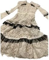 Erdem White Lace Dress for Women