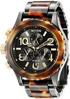 Nixon Women's A404679 38-20 Chrono Analog Display Japanese Quartz Two Tone Watch