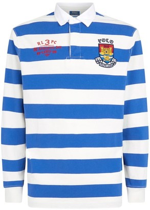 Ralph Lauren Stripe Rugby Polo Shirt