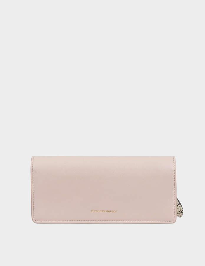 Alexander McQueen Wallet Flat Narrow