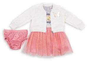 Little Lass Little Girl's 2-Piece Love Always Jacket & Dress Set