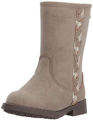 Osh Kosh Girls' Veruca Glitter Riding Knee High Boot
