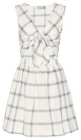 MAISON KITSUNÉ Liba Check Cotton Dress