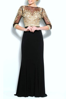 Terani Couture Long Jersey Dress