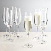 Crate & Barrel Viv Champagne Glasses, Set of 8