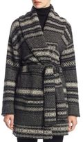 Ralph Lauren Shawl Collar Chevron Fairisle Cardigan