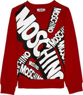Moschino Logo Print Cotton Jumper 4-14 Years