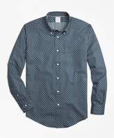 Brooks Brothers Regent Fit Lifesaver Print Sport Shirt